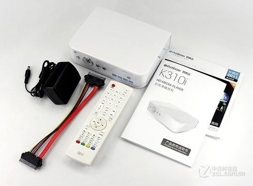全亮白色设计 开博尔K310i播放机曝光