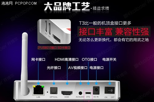 云OS智能盒开博尔T3双11首发销八千台