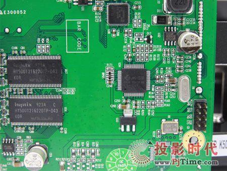 开博尔K500高清播放机评测 内部构造及芯片