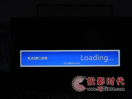 开博尔K500高清播放机影片载入界面