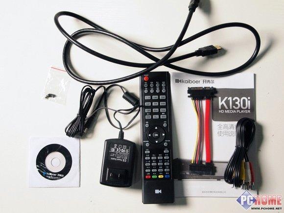 全能影音冲击波 评开博尔K130I播放器