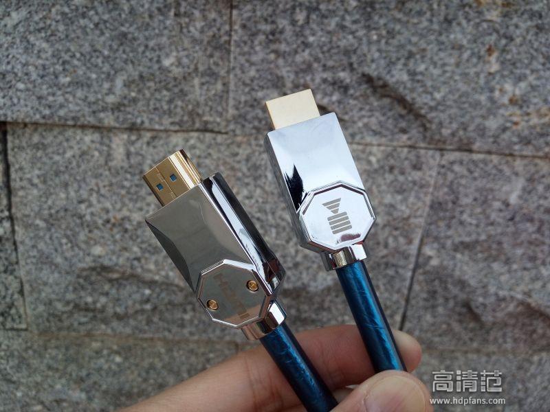 还原影音真实场景,开博尔镀银HDMI2.1高清线体验