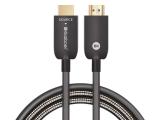 开博尔抗拉扯钢甲防护第三代光纤HDMI线现已上市