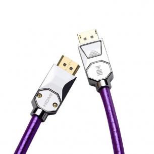 开博尔dp转hdmi线电脑接电视4K60Hz显示器投影仪连接线5米高清线