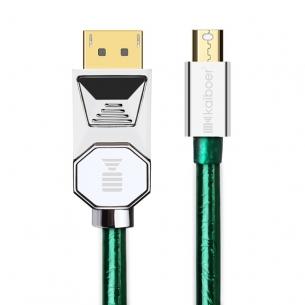 开博尔镀银miniDP转DP线1.4版4K高清线苹果电脑显示器连接线