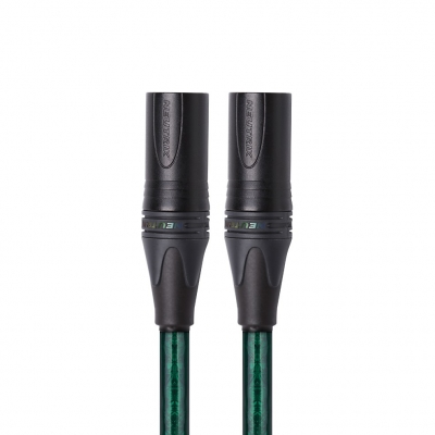 开博尔镀银发烧卡农线公对公卡侬线XLR平衡线调音台音响直播录音音频升级线